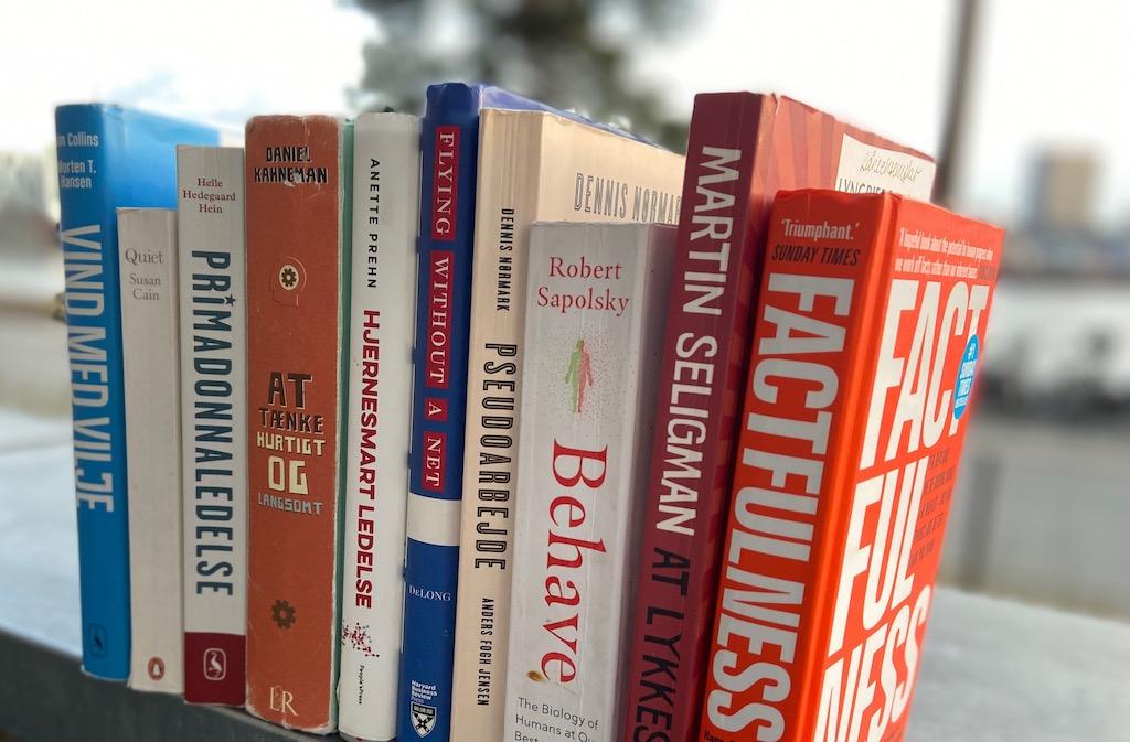 De 10 bedste fagbøger i 10 år